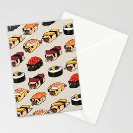Sushi Pug Stationery Cards