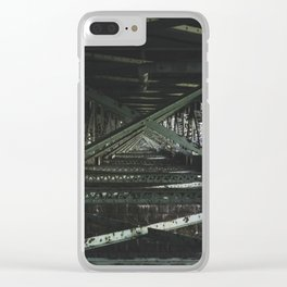Under the Bridge Clear iPhone Case