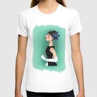audrey hepburn T-shirts featuring Audrey Hepburn by carotoki