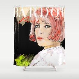 Bardot  Paris Shower Curtain
