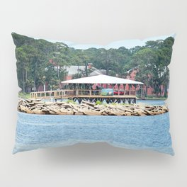 Port St. Joe Marina view 12 Pillow Sham