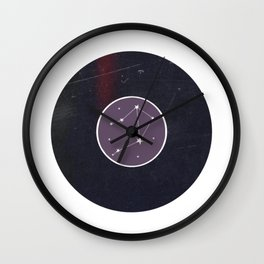 Vinyl Record Zodiac Sign Libra Wall Clock