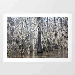 Tree Wisps Art Print