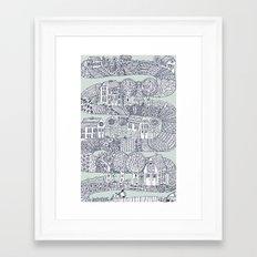 shoreline Framed Art Print
