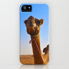 Camel Face iPhone Case
