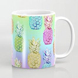 Pineapple Rainbow Coffee Mug