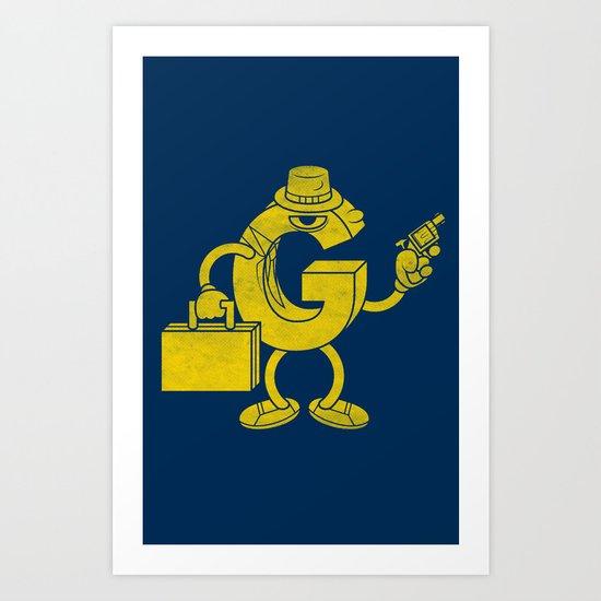 G-Man Art Print