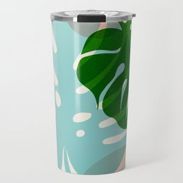 Abstraction_PLANTS_01 Travel Mug