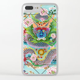 Love DRAGON Clear iPhone Case