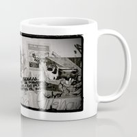 che Mugs featuring CHE by Dave Houldershaw