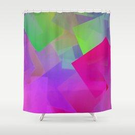 Lighted night Shower Curtain