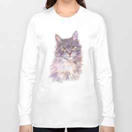 Tawny Blue Tabby Long Sleeve T-shirt