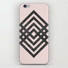 Geometric loop iPhone Skin