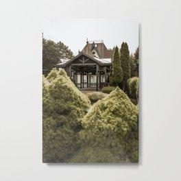 Lake house/villa at lake Palic, Serbia Metal Print