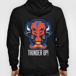 Thunder 'stache Hoody
