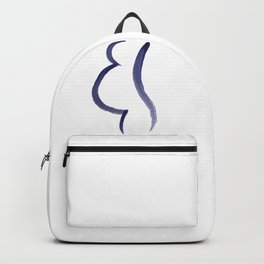 Purple Mama Outline Painting Backpack