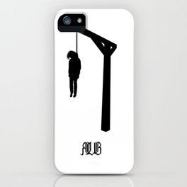 Execution iPhone Case