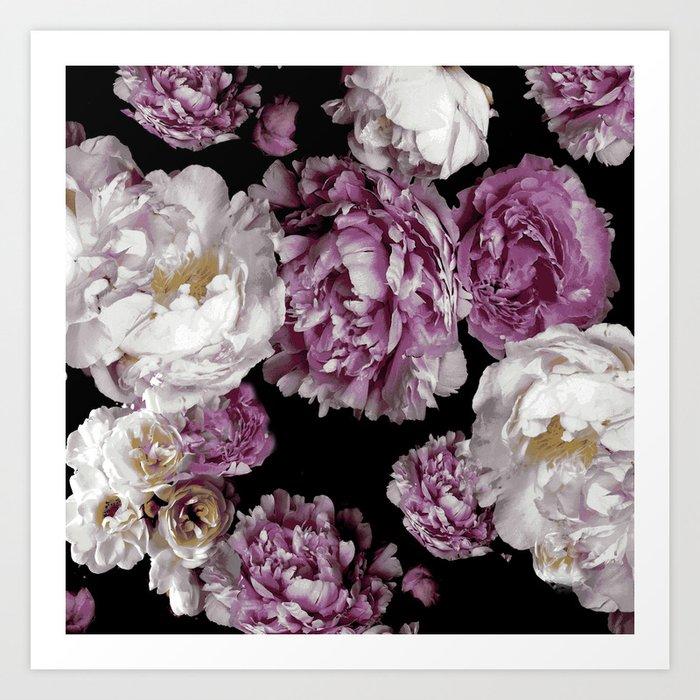 Peony blooms Kunstdrucke