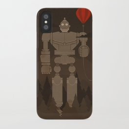 The Robot and The Balloon iPhone Case