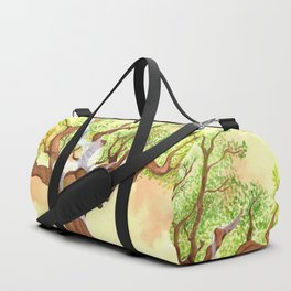 The concentrated Lady of the Oak Duffle Bag