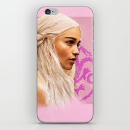 Dany painting iPhone Skin