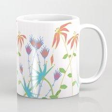 Bouquet on White Mug