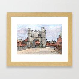 Southgates Kings Lynn Framed Art Print