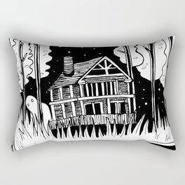 Mysterious Ghost Rectangular Pillow