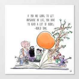 Roald Dahl Day Canvas Print