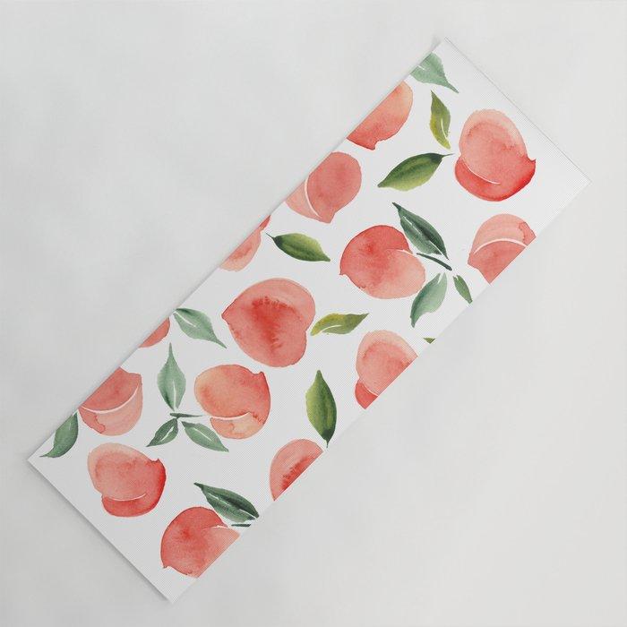 peaches Yoga Mat