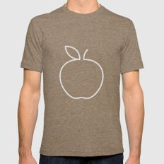 Apple 20 Mens Fitted Tee 2X-LARGE Tri-Coffee