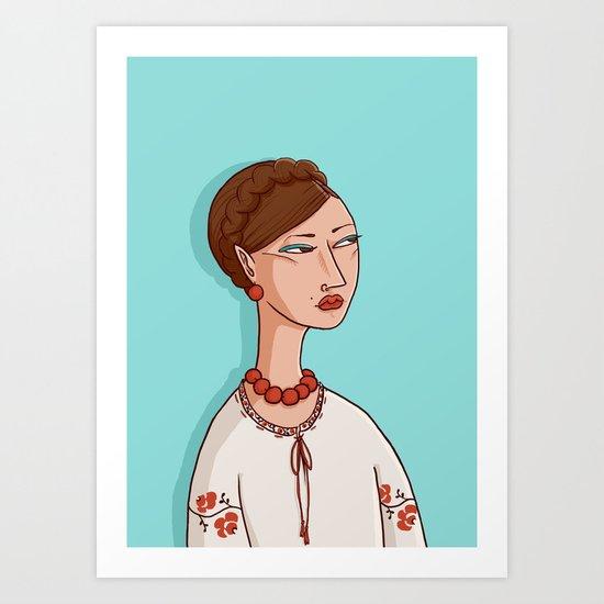 Ukrainian Art Print