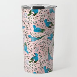 Birds in Spring Travel Mug