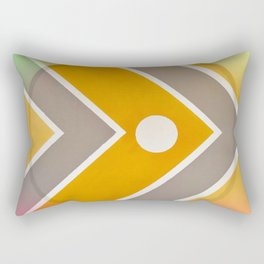 Fish - color graphic Rectangular Pillow