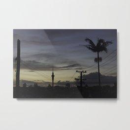 Skytower Sunrise Metal Print
