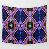 tarot Wall Tapestries featuring Tarot 1B by Schatzi Brown