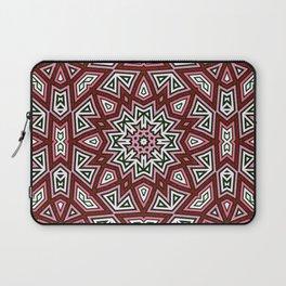 Geometric Red+Pink Star Laptop Sleeve