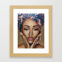 Brown Skin Framed Art Print
