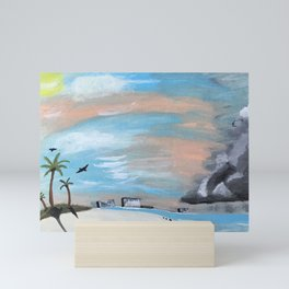 Summer Storm Mini Art Print
