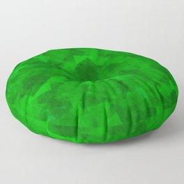 Emerald Fragments Floor Pillow