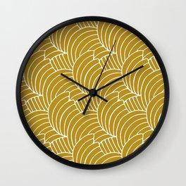 """Koloman (Kolo) Moser """"Textile pattern (Bogen)"""" (3) Wall Clock"""
