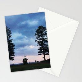 Sunset at Newport Beach, NSW, Australia  Stationery Cards