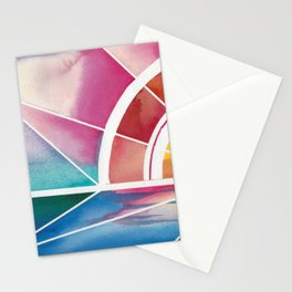 The Play of Light and Water Stationery Cards