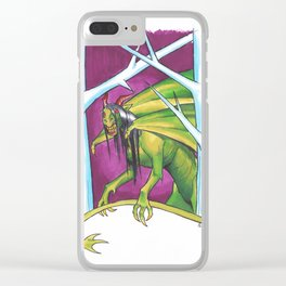 The Jersey Devil Clear iPhone Case