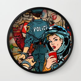 It's a Woman's World Wall Clock