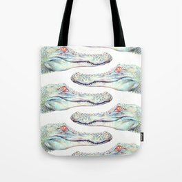 Albino Alligator Tote Bag