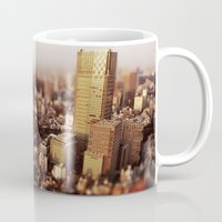 tokyo Mugs featuring Tokyo by Sushibird