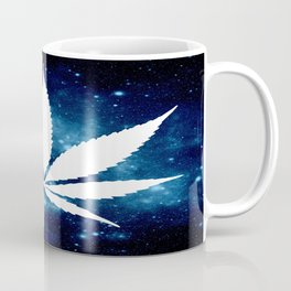 Weed : High Times Blue Galaxy Coffee Mug
