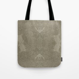 Soldier crabs and sand Tote Bag