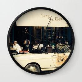 Chez Julien Wall Clock